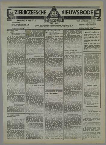 Zierikzeesche Nieuwsbode 1942-05-04