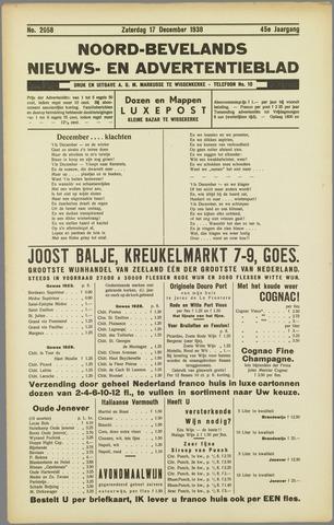 Noord-Bevelands Nieuws- en advertentieblad 1938-12-17