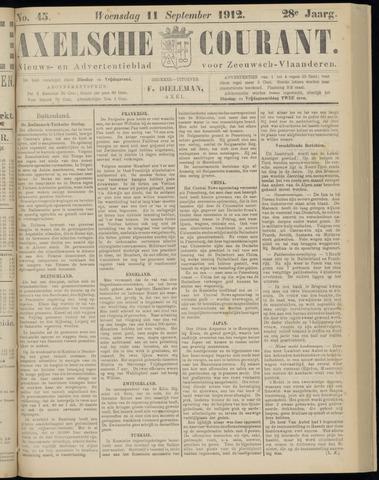 Axelsche Courant 1912-09-11