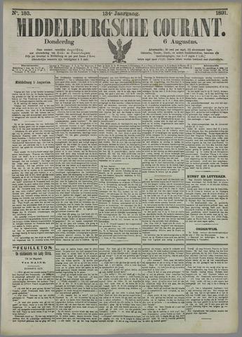 Middelburgsche Courant 1891-08-06