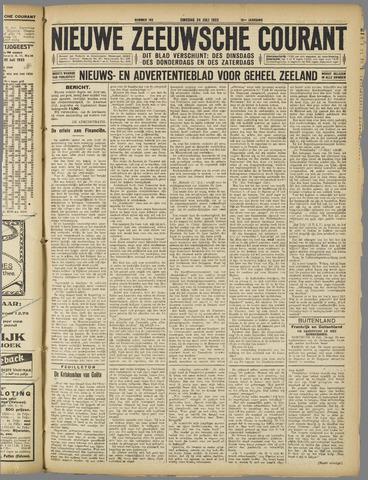 Nieuwe Zeeuwsche Courant 1923-07-24