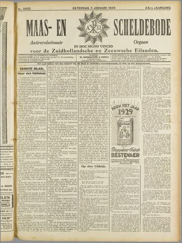 Maas- en Scheldebode 1929