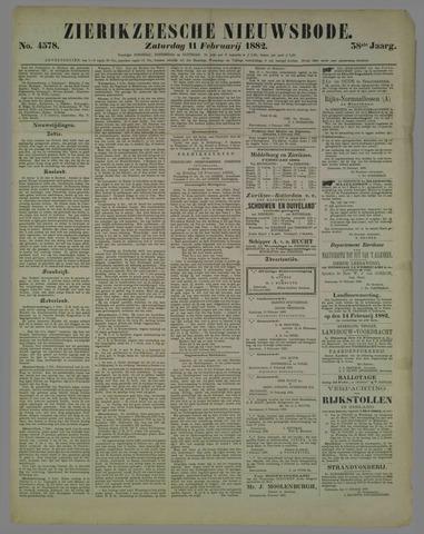 Zierikzeesche Nieuwsbode 1882-02-11