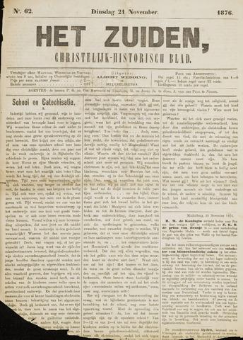 Het Zuiden, Christelijk-historisch blad 1876-11-21