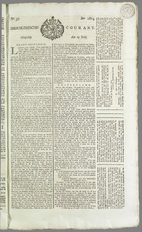 Zierikzeesche Courant 1814-07-19