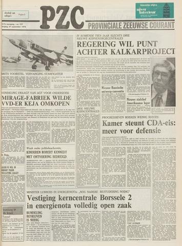 Provinciale Zeeuwse Courant 1974-09-27