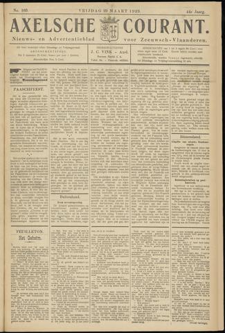 Axelsche Courant 1929-03-29