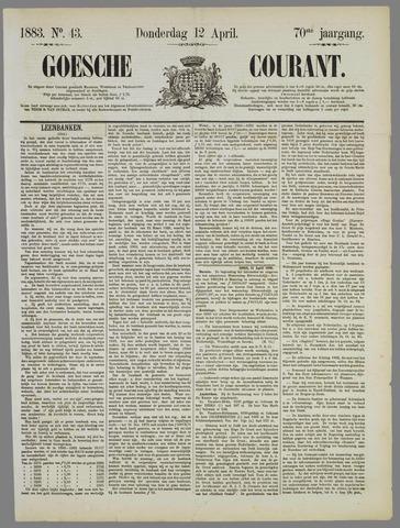 Goessche Courant 1883-04-12