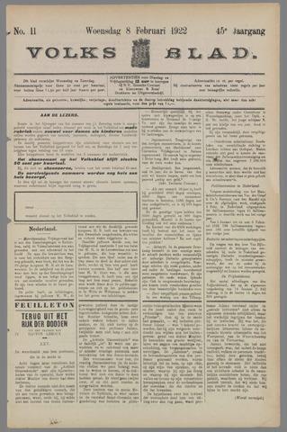 Volksblad 1922-02-08