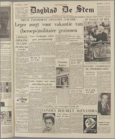 de Stem 1963-04-25