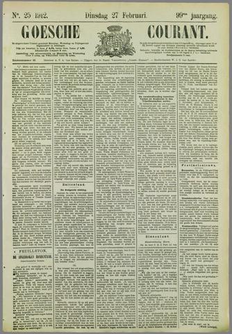 Goessche Courant 1912-02-27