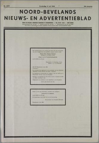 Noord-Bevelands Nieuws- en advertentieblad 1986-07-10