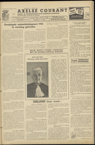 Axelsche Courant 1959-04-11