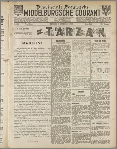 Middelburgsche Courant 1932-11-08