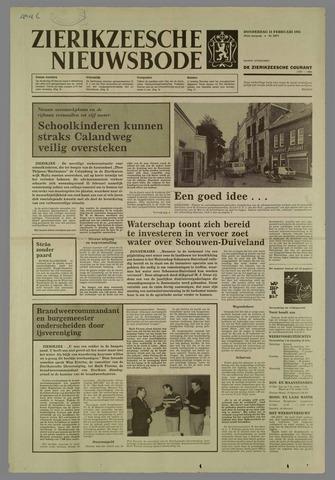 Zierikzeesche Nieuwsbode 1985-02-14