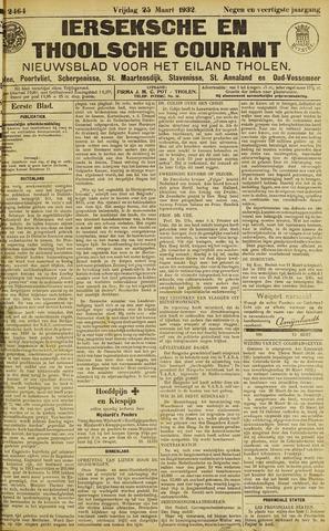 Ierseksche en Thoolsche Courant 1932-03-25