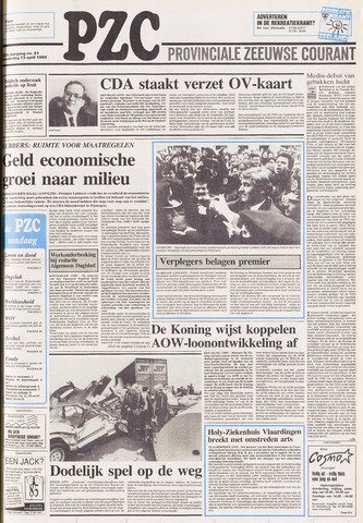 Provinciale Zeeuwse Courant 1989-04-13