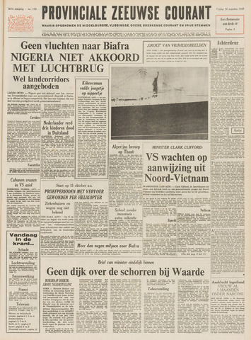 Provinciale Zeeuwse Courant 1968-08-16