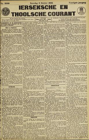 Ierseksche en Thoolsche Courant 1923-10-06