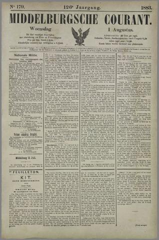Middelburgsche Courant 1883-08-01