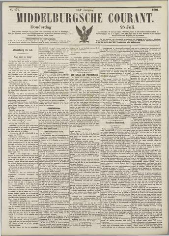 Middelburgsche Courant 1901-07-25