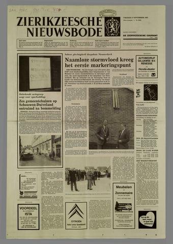 Zierikzeesche Nieuwsbode 1985-11-08
