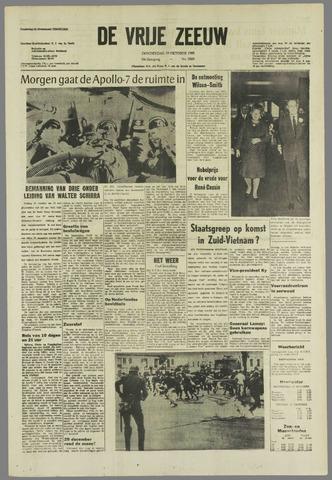 de Vrije Zeeuw 1968-10-10