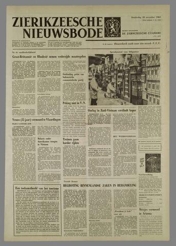 Zierikzeesche Nieuwsbode 1965-11-18