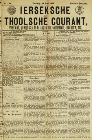 Ierseksche en Thoolsche Courant 1899-06-10