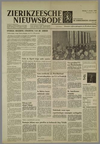 Zierikzeesche Nieuwsbode 1963-10-01