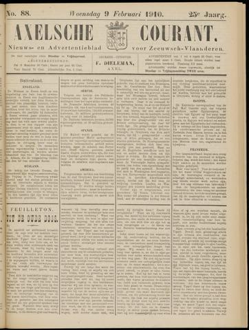 Axelsche Courant 1910-02-09