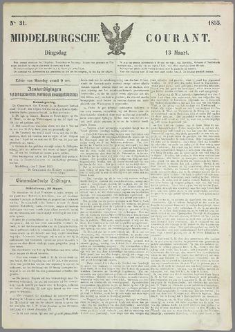 Middelburgsche Courant 1855-03-13