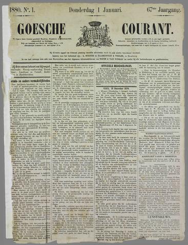 Goessche Courant 1880