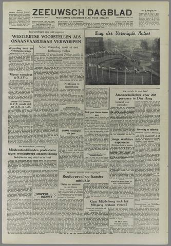 Zeeuwsch Dagblad 1952-10-25