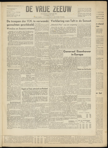 de Vrije Zeeuw 1951-01-08