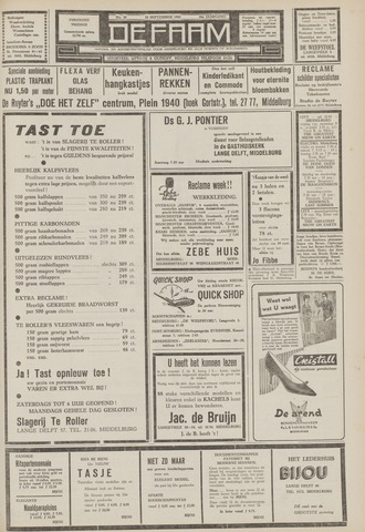 de Faam en de Faam/de Vlissinger 1962-09-28