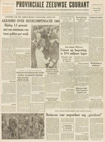 Provinciale Zeeuwse Courant 1964-04-23