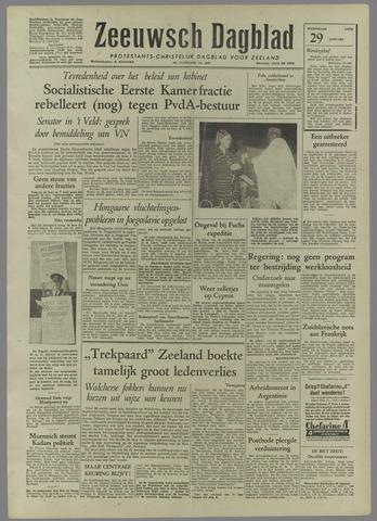 Zeeuwsch Dagblad 1958-01-29