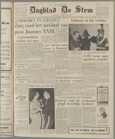 de Stem 1963-05-27