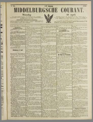 Middelburgsche Courant 1906-04-23