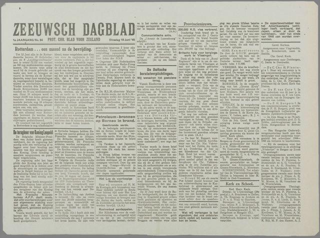 Zeeuwsch Dagblad 1945-06-19