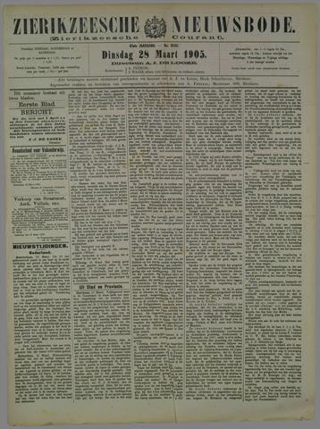 Zierikzeesche Nieuwsbode 1905-03-28