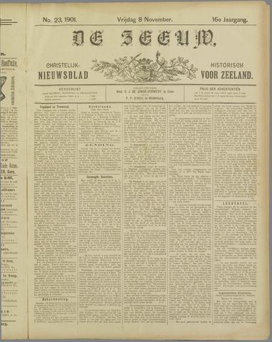 De Zeeuw. Christelijk-historisch nieuwsblad voor Zeeland 1901-11-08