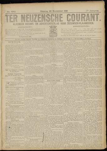Ter Neuzensche Courant. Algemeen Nieuws- en Advertentieblad voor Zeeuwsch-Vlaanderen / Neuzensche Courant ... (idem) / (Algemeen) nieuws en advertentieblad voor Zeeuwsch-Vlaanderen 1918-11-26