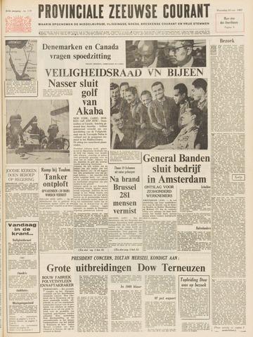 Provinciale Zeeuwse Courant 1967-05-24