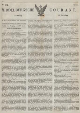 Middelburgsche Courant 1866-10-13
