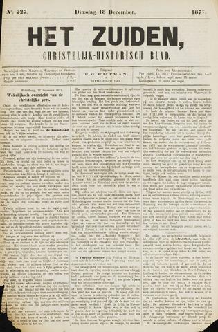 Het Zuiden, Christelijk-historisch blad 1877-12-18