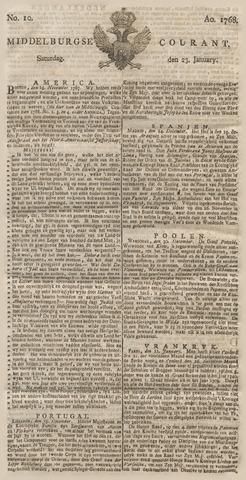 Middelburgsche Courant 1768-01-23