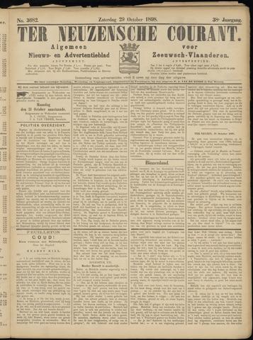 Ter Neuzensche Courant. Algemeen Nieuws- en Advertentieblad voor Zeeuwsch-Vlaanderen / Neuzensche Courant ... (idem) / (Algemeen) nieuws en advertentieblad voor Zeeuwsch-Vlaanderen 1898-10-29