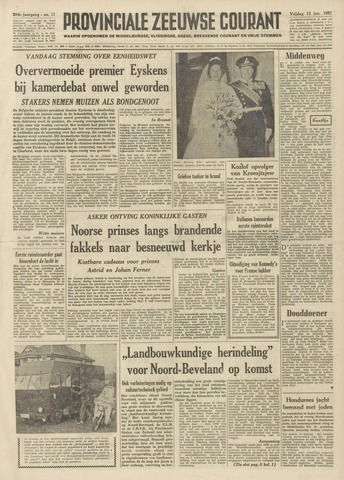 Provinciale Zeeuwse Courant 1961-01-13